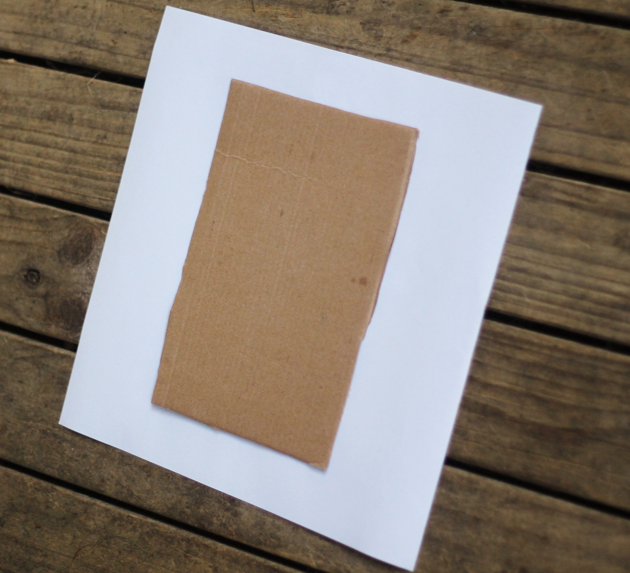 How to make scrapbook easy - Place 1 Half Of Cardboard Onto A Standard Square Of Scrapbooking Paper In Your Chosen Design For A Pretty Cover